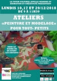 COMPLET - atelier «Peinture et modelage» pour tout- petits
