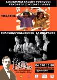 LA CRAPAUDE «Chansons de Wallonie» 1ère partie «Colette et Odette» de la Cie Ebadidon