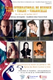2e Stage International de Musique «Piano - Violon - Violoncelle»