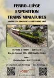 Exposition des réseaux du club et mini-bourse d'échange de trains miniatures