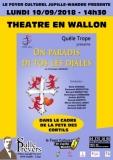 Théâtre en Wallon «ON PARADIS DI TOS Lè djales»  - Dans le cadre de la Fête des Cortils