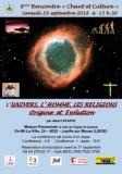 6e Rencontre «Chant et Culture»  L'UNIVERS, L'HOMME, LES RELIGIONS: Origine et Evolution