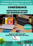 Détecter et éviter les dangers du net - Conférence
