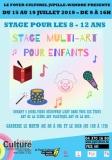 Stage multi-art pour enfants