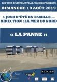 1 JOUR D'ÉTÉ EN FAMILLE …  DIRECTION : LA MER DU NORD « LA PANNE »