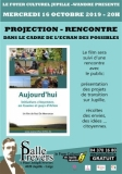 "PROJECTION-RENCONTRE: ""AUJOURD'HUI"""