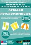 Atelier psychomotricité pour bébés marcheurs (de 1 an à 2-3 ans)