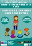 Contes et comptines pour tout petits (de 1 à 3 ans)