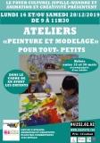 2 ateliers «Peinture et modelage» pour tout- petits