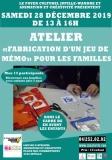 atelier «Fabrication d'un jeu de mémo» pour les familles