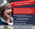 Stage de théâtre avec Manon Lepomme