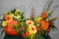 Montage floral spécial Toussaint & Halloween