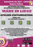 Made In Liège - Atelier customisation