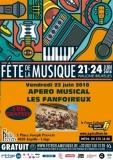 APERO MUSICAL EN FANFARE AVEC «LES FANFOIREUX» - Dans le cadre des fêtes de la musique