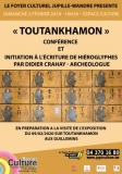 Conférence – Exercices pratiques  «TOUTANKHAMON»