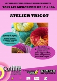 Atelier tricot – moment papote