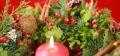 Montage floral spécial Noël.